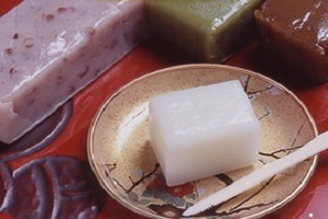 photograph  Uiro  -Japanese Steamed Cake-