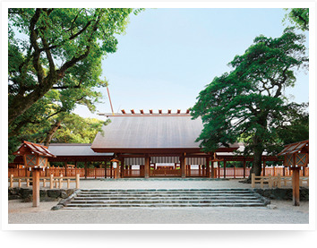 photograph  Atsuta Shrine