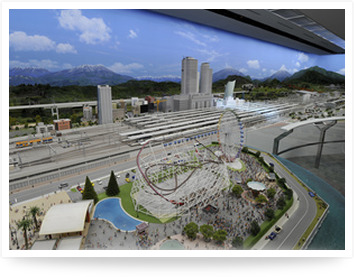 photograph  SCMAGLEV and Railway Park