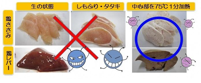 鶏肉 食中毒 症状