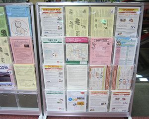 Multi-lingual Information Corner